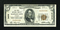 National Bank Notes:Missouri, Kansas City, MO - $5 1929 Ty. 1 The First NB Ch. # 3456. ...