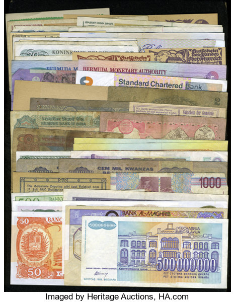 World Currency Wide Tour Total 47