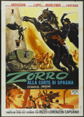 "Movie Posters:Adventure, The Masked Conqueror (Jonia Film, 1968). Italian 2 - Folio (39"" X55""). Adventure...."