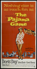 "Movie Posters:Comedy, The Pajama Game (Warner Brothers, 1957). Three Sheet (41"" X 81"").Comedy...."