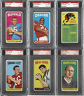 Football Cards:Sets, 1965 Topps Football Complete Set (176). The 1965 Topps football set contains 176 oversized cards featuring only players from...