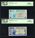 Military Payment Certificates:Series 692, Series 692 5¢; 10¢; 25¢; 50¢.... (Total: 4 notes)