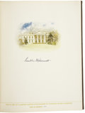 Autographs:U.S. Presidents, Franklin Roosevelt Signed Edition of The Democratic Book1936,...
