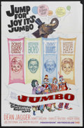 "Movie Posters:Musical, Billy Rose's Jumbo (MGM, 1962). One Sheet (27"" X 41""). Musical Comedy. Starring Doris Day, Stephen Boyd, Jimmy Durante, Mart..."
