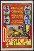 """Movie Posters:Documentary, Days of Thrills and Laughter (20th Century Fox, 1961). One Sheet (27"""" X 41""""). Documentary. Starring Douglas Fairbanks, Charl..."""