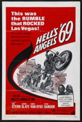 "Movie Posters:Action, Hell's Angels '69 (American International, 1969). One Sheet (27"" X41""). Biker Film. Starring Tom Stern, Jeremy Slate, Conny..."