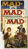 Magazines:Mad, Mad #49-71 Group (EC, 1959-62) Condition: Average VG+.... (Total:23)