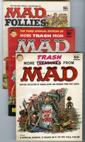 Magazines:Mad, More Trash from Mad/Mad Follies Group (EC, 1958-69) Condition:Average VG.... (Total: 19)