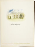 Autographs:U.S. Presidents, Franklin Roosevelt: Signed Edition of The Democratic Book 1936, His Mother's Copy....