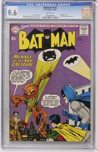 Batman #135 (DC, 1960) CGC NM+ 9.6 White pages