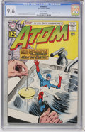 Silver Age (1956-1969):Superhero, The Atom #2 (DC, 1962) CGC NM+ 9.6 White pages....