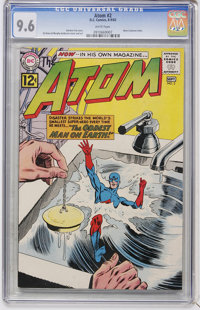 The Atom #2 (DC, 1962) CGC NM+ 9.6 White pages