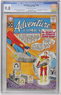 Adventure Comics #290 (DC, 1961) CGC NM/MT 9.8 Off-white to white pages