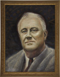 Political:Miscellaneous Political, Franklin Roosevelt, Original Portrait by Allan Dudley Jones... (Total: 2 Items)