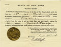 Autographs:U.S. Presidents, Franklin D. Roosevelt: Extradition Document Signed as New YorkGovernor. ...