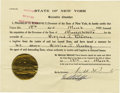 Autographs:U.S. Presidents, Franklin D. Roosevelt: Extradition Document Signed as New YorkGovernor....