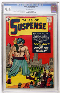 Tales of Suspense #38 (Marvel, 1963) CGC NM+ 9.6 Off-white to white pages
