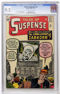 Silver Age (1956-1969):Mystery, Tales of Suspense #35 (Marvel, 1962) CGC NM- 9.2 Off-white to whitepages....