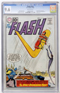 Silver Age (1956-1969):Superhero, The Flash #124 (DC, 1961) CGC NM+ 9.6 Off-white pages....