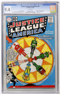 Justice League of America #6 (DC, 1961) CGC NM 9.4 White pages