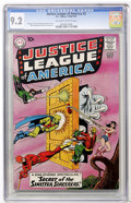 Silver Age (1956-1969):Superhero, Justice League of America #2 (DC, 1961) CGC NM- 9.2 Off-white towhite pages....
