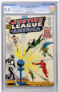 Silver Age (1956-1969):Superhero, Justice League of America #12 (DC, 1962) CGC NM 9.4 Off-whitepages....