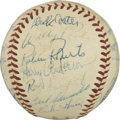 Autographs:Baseballs, 1959 Philadelphia Phillies Team Signed Baseball. The 1959Philadelphia Phillies did little to impress on the diamond --the...