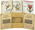 Football Collectibles:Programs, Vintage Tennessee and Vanderbilt Football Programs Lot of 13. Beginning with 1922 the Vandy programs progress to 1925 (2), ...