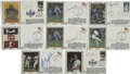Autographs:Others, All-Star Game Signed First Day Covers Lot of 16. Top-notchcollection of signed All-Star first day covers from baseball's b...