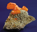 Minerals:Cabinet Specimens, RED CLOUD WULFENITE. ...