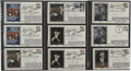 Autographs:Letters, 1988-89 World Series Signed First Day Covers Lot of 17. From the1988 World Series we offer these 9 signed First Day Covers...