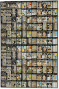 Baseball Collectibles:Others, 1971 & 1974 Topps Uncut Sheets Lot of 2. A lot of two uncutTopps sheets. The 1971 Topps uncut sheet shows significant crea...