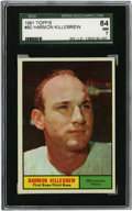 Baseball Cards:Singles (1960-1969), 1961 Topps Harmon Killebrew #80 SGC NM 84. The pure power thatKillebrew brought with him to the plate throughout the 1960s...