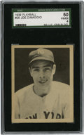 Baseball Cards:Singles (1930-1939), 1939 Play Ball Joe DiMaggio #26 SGC VG-EX 50. Joltin' Joe's firstPlay Ball offering is the #26 card from the 1939 issue, a ...