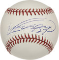 Autographs:Baseballs, Vladimir Guerrero Single Signed Baseball. As an eight-timeAll-Star, Vladimir Guerrero is widely recognized as one of thebe...