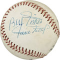 Autographs:Baseballs, Willie Mays Single Signed Baseball. Whether it was his moonshothome runs, blistering speed on the base paths, or his all-e...