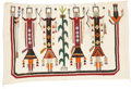 American Indian Art:Weavings, A NAVAJO YEI RUG. c. 1950...