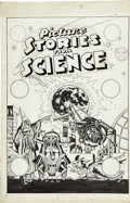 Original Comic Art:Covers, Allen Simon - Unpublished Picture Stories From Science #4 CoverOriginal Art (EC, circa 1947)....