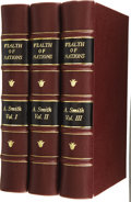 Books:Non-fiction, Adam Smith. An Inquiry into the Nature and Causes of the Wealthof Nations. In Three Volumes. The Sixth Edition.... (Total: 3Items)