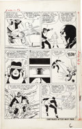 Original Comic Art:Panel Pages, Jack Kirby and Paul Reinman - X-Men #1, page 6 Original Art(Marvel, 1963)....