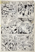 Original Comic Art:Panel Pages, John Romita Sr. and John Verpoorten - Fantastic Four #105, page 2Original Art (Marvel, 1970)....