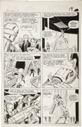Original Comic Art:Panel Pages, Jack Kirby and Dick Ayers - Avengers #8, page 14 Original Art(Marvel, 1964)....