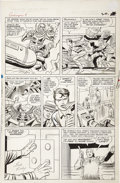 Original Comic Art:Panel Pages, Jack Kirby and Dick Ayers - Avengers #8, page 15 Original Art(Marvel, 1964)....