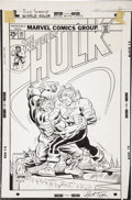 Original Comic Art:Covers, Herb Trimpe - The Incredible Hulk #193 Alternative Cover OriginalArt (undated)....