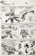Original Comic Art:Panel Pages, Jack Kirby and Joe Sinnott - Fantastic Four #55, page 11 OriginalArt (Marvel, 1966)....