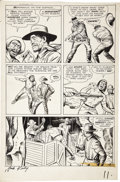 Original Comic Art:Panel Pages, Jack Kirby and Dick Ayers - Rawhide Kid #22, page 10 Original Art(Marvel, 1961)....