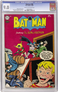 Batman #88 (DC, 1954) CGC VF/NM 9.0 Cream to off-white pages