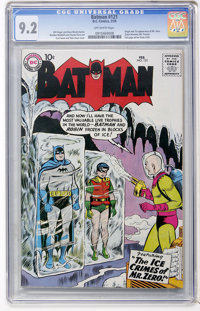 Batman #121 (DC, 1959) CGC NM- 9.2 Off-white pages