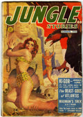 Pulps:Adventure, Jungle Stories V4#11 (Fiction House, 1950) Condition: GD/VG....