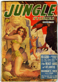 Jungle Stories V4#11 (Fiction House, 1950) Condition: GD/VG